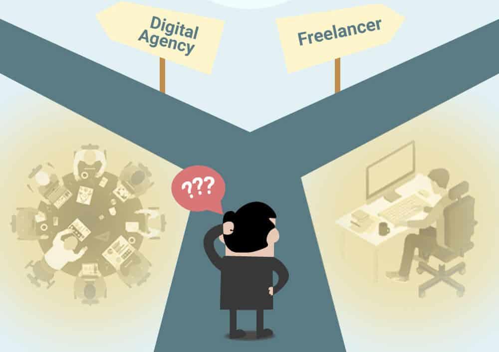 digitalni agentura nebo freelancer